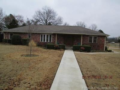 Fort Gibson Single Family Home For Sale: 700 Bowden Road