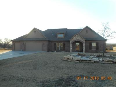 Claremore Single Family Home For Sale: 20750 S Oqeche Street