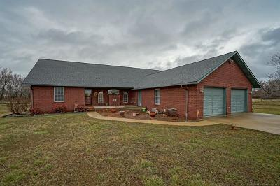 Claremore Single Family Home For Sale: 20554 Carefree Drive