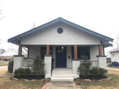 Tulsa Single Family Home For Sale: 1203 S Florence Place