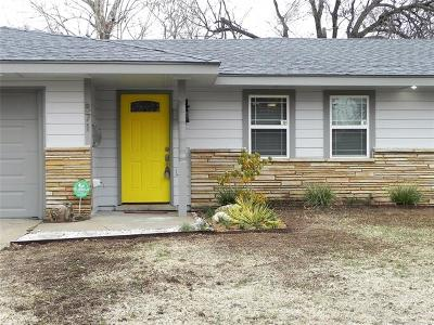 Tulsa Single Family Home For Sale: 871 N Union Place