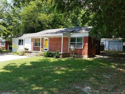 Ada OK Single Family Home For Sale: $88,000