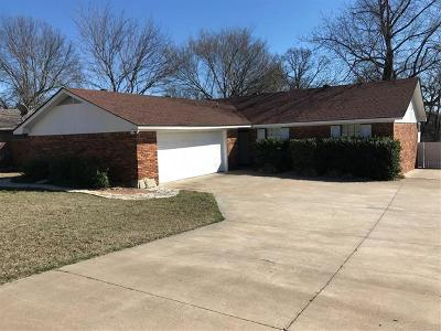 Ada OK Single Family Home For Sale: $167,500