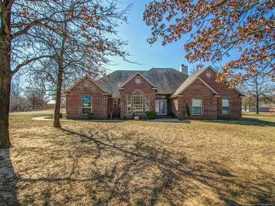 Skiatook Single Family Home For Sale: 8820 Battle Creek Road