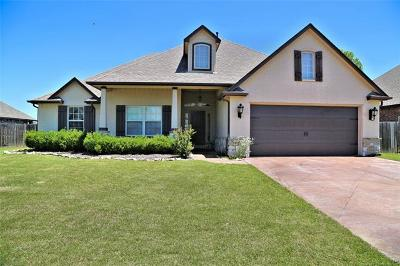Glenpool Single Family Home For Sale: 14613 Courtney Lane