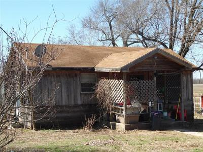 Ada OK Single Family Home For Sale: $35,000