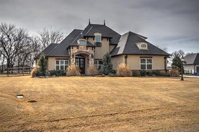 Owasso Single Family Home For Sale: 18720 E Crooked Oak Drive E