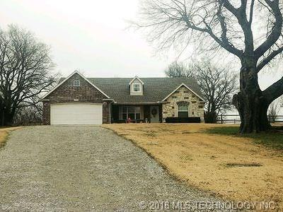 Claremore Single Family Home For Sale: 21509 S Sunny Lake Road
