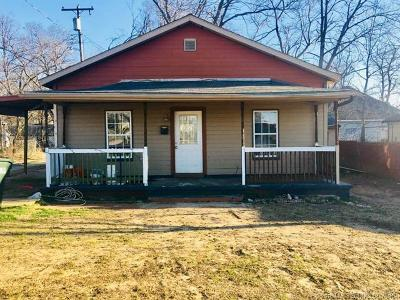 Sapulpa Single Family Home For Sale: 708 E Lee Avenue