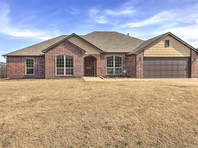 Claremore Single Family Home For Sale: 23019 S 4130 Road
