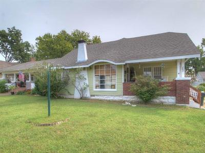 Sapulpa Single Family Home For Sale: 703 S Hickory Street