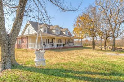 Collinsville Single Family Home For Sale: 8822 E 166th Street North