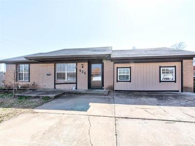 Sapulpa Single Family Home For Sale: 400 W Galaxy Place