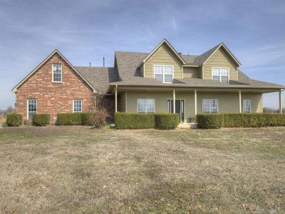 Collinsville Single Family Home For Sale: 17015 E 118th Street North