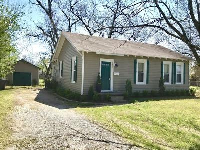 Jenks Single Family Home For Sale: 411 S 6th Street