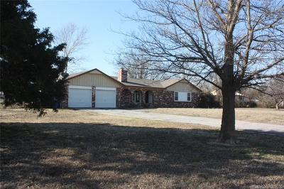 Collinsville Single Family Home For Sale: 14218 E 126th Street N