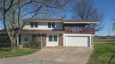 Tahlequah OK Single Family Home For Sale: $139,000