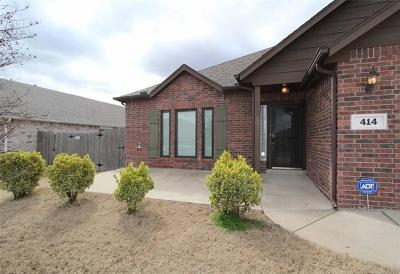 Jenks Single Family Home For Sale: 414 W 126th Street