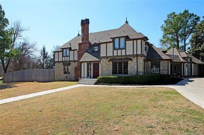 Tulsa Single Family Home For Sale: 2402 Terwilleger Boulevard