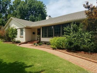 Tulsa Single Family Home For Sale: 3918 S Evanston Avenue
