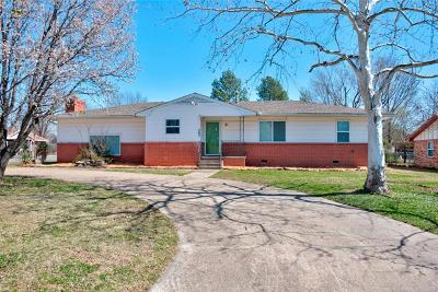 Fort Gibson Single Family Home For Sale: 302 S Meigs Street