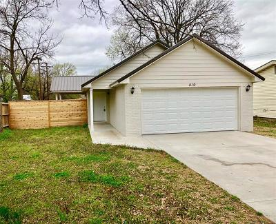 Claremore Single Family Home For Sale: 419 S Normal Avenue
