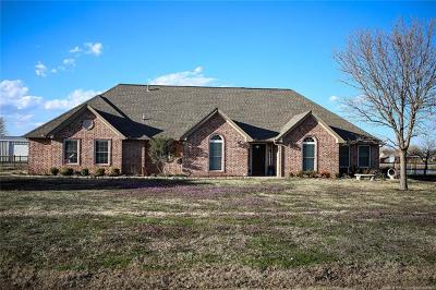 Skiatook Single Family Home For Sale: 1853 W 131st Street North N