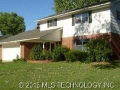 Tulsa OK Single Family Home For Sale: $177,000