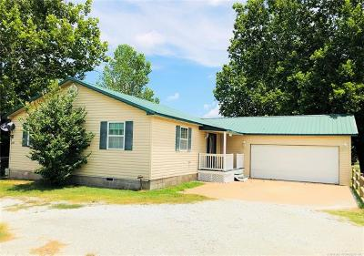 Ada OK Single Family Home For Sale: $124,900