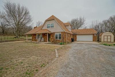 Claremore Single Family Home For Sale: 18526 S Fern Valley Drive