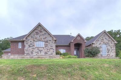 Sand Springs Single Family Home For Sale: 5938 S 161st West Avenue