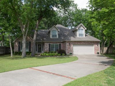 Tulsa Single Family Home For Sale: 7939 S Hudson Place