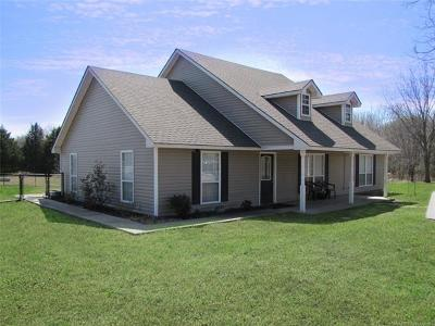 Allen OK Single Family Home For Sale: $145,000