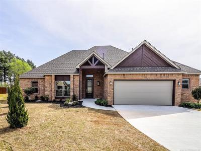 Glenpool Single Family Home For Sale: 13505 S Poplar Place