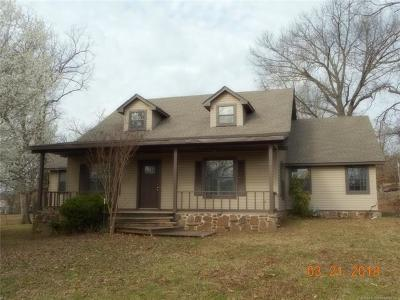 Tahlequah OK Single Family Home For Sale: $189,000