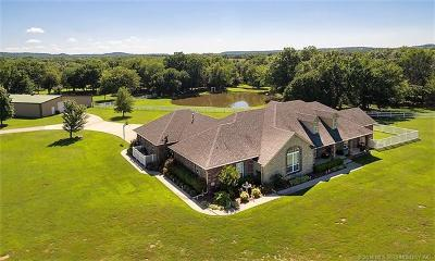 Claremore Single Family Home For Sale: 22144 S Rocky Ridge Lane