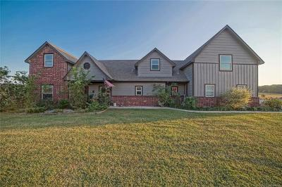 Claremore Single Family Home For Sale: 16800 S 4210 Road