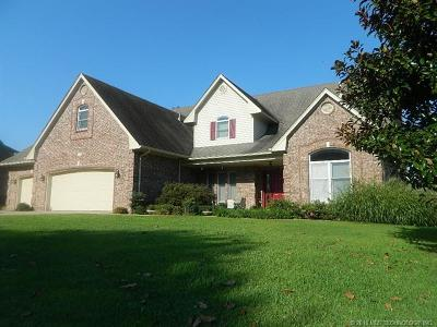 Tahlequah OK Single Family Home For Sale: $319,900
