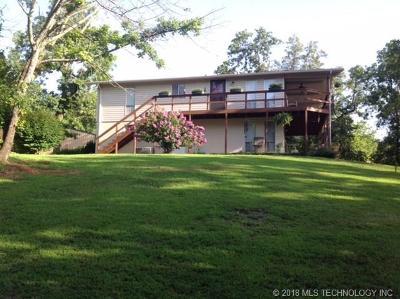 Cookson OK Single Family Home For Sale: $246,500