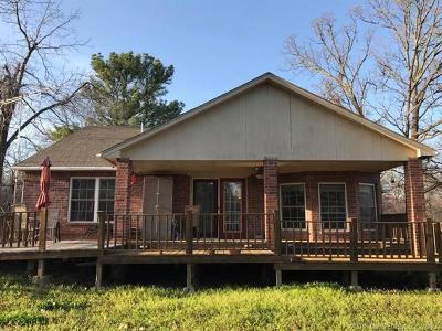 Hulbert OK Single Family Home For Sale: $123,500