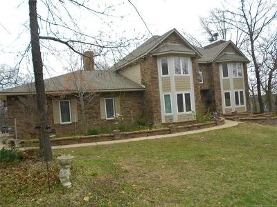 Sand Springs Single Family Home For Sale: 210 Hillside Drive