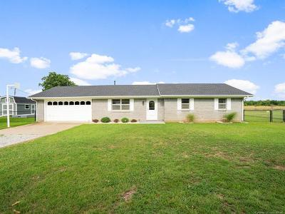 Claremore Single Family Home For Sale: 15491 S Hwy 66