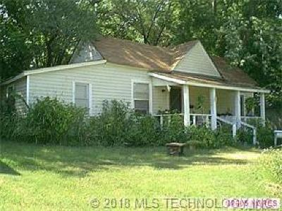 Tahlequah OK Single Family Home For Sale: $40,000