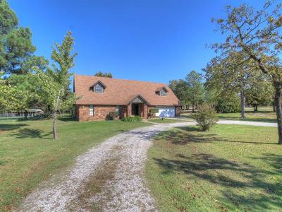 Sand Springs Single Family Home For Sale: 11033 W 47th Street N
