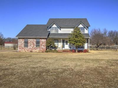 Owasso Single Family Home For Sale: 7809 N 154th East Avenue
