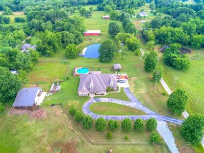 Coweta Single Family Home For Sale: 28464 E 151st Street S