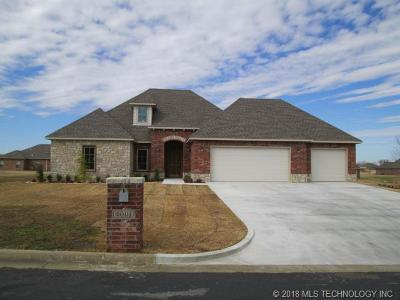 Muskogee Single Family Home For Sale: 4001 Stone Creek Drive