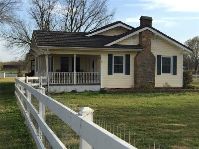Okmulgee Single Family Home For Sale: 16290 Old Morris Hwy