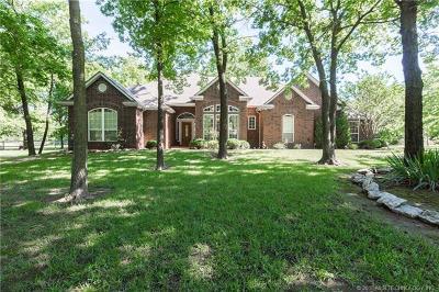 Owasso Single Family Home For Sale: 19865 E Redbud Drive