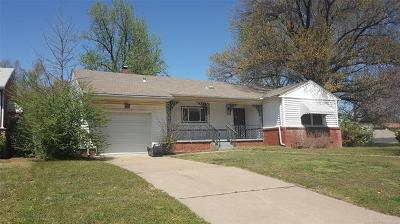 Tulsa OK Single Family Home For Sale: $99,900